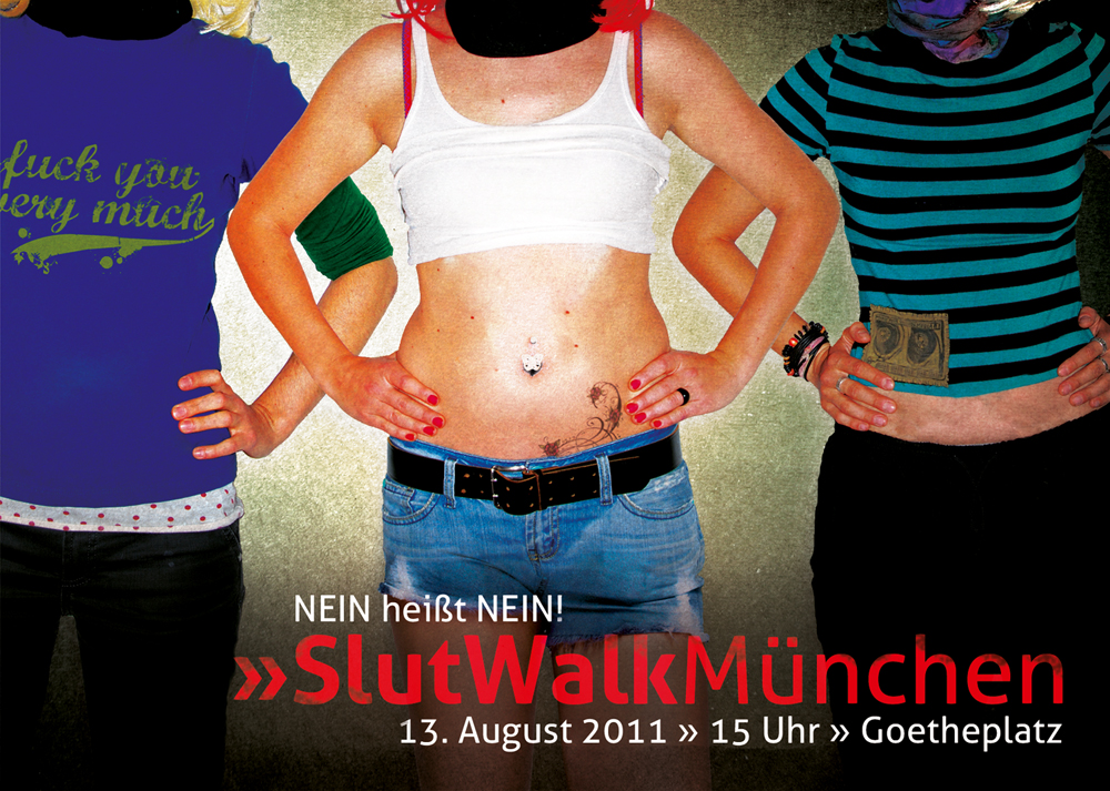 SlutWalk Flyer